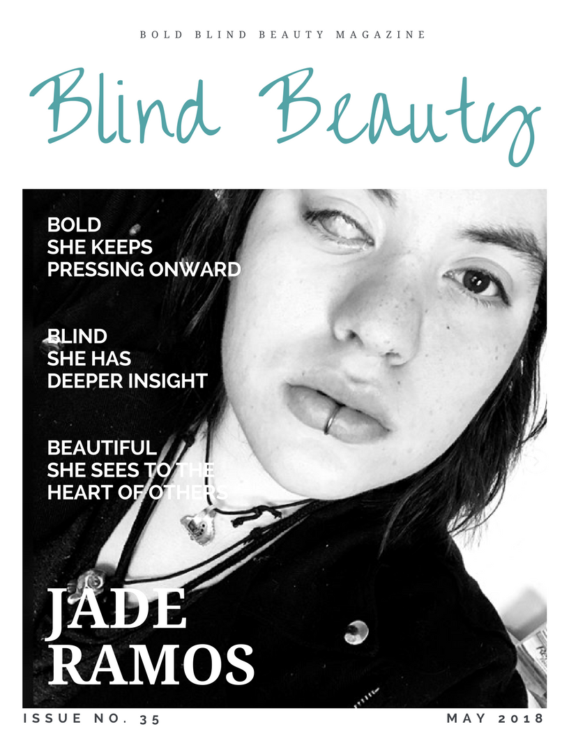 Blind Beauty Issue 35 featured image description is in the body of the post.