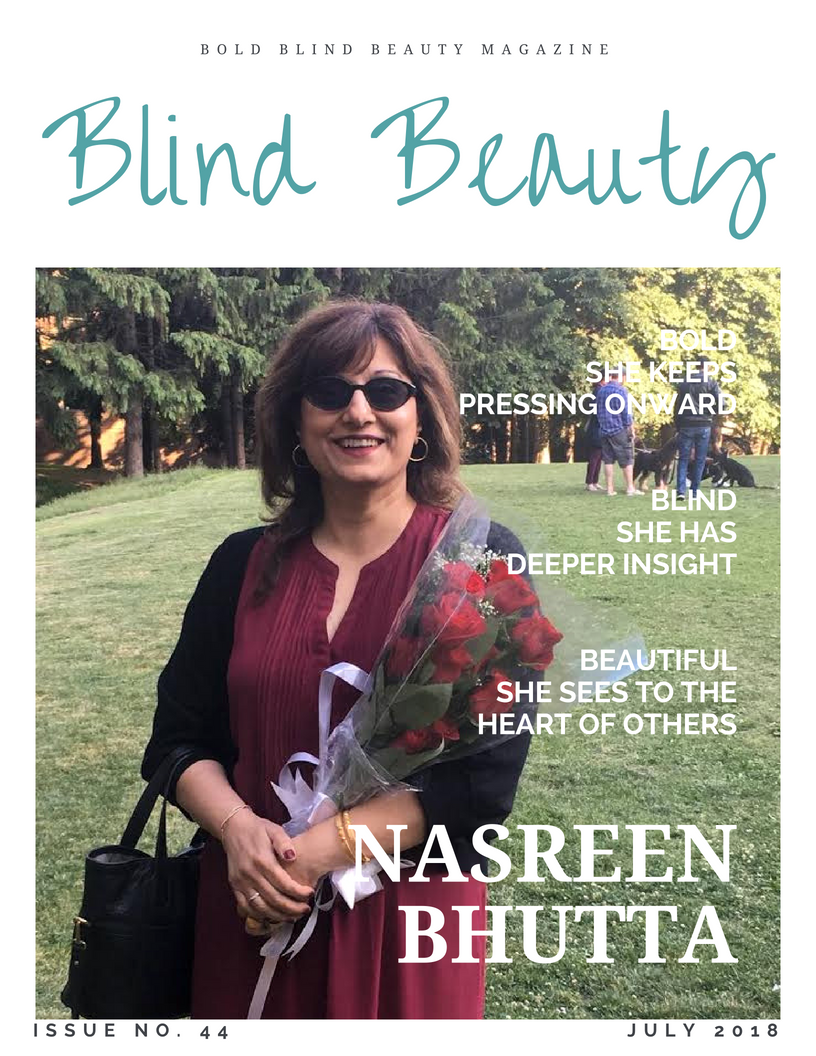 Blind Beauty Issue 44 Nasreen Bhutta
