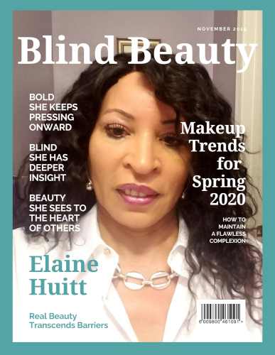 Blind Beauty 79 | Elaine Huitt image is described in the body of the post