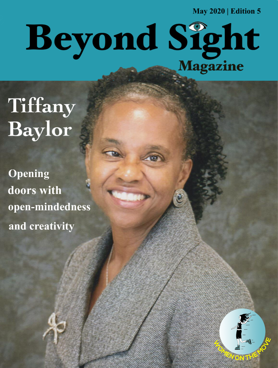Beyond Sight Magazine Cover is described in the body of the post.